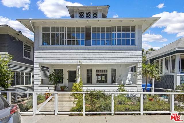 143 Wadsworth Ave, Santa Monica, CA 90405 (#21-787430) :: The Grillo Group