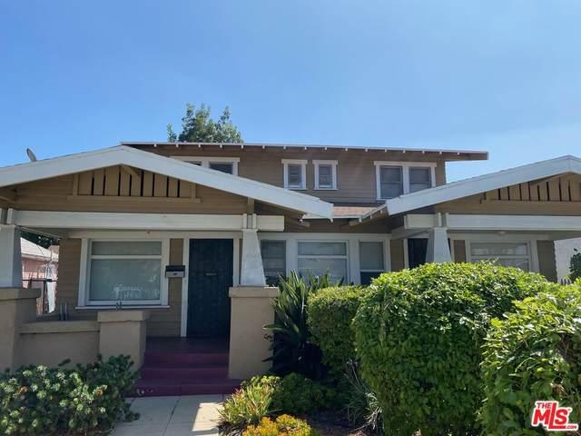 4100 Denker Ave, Los Angeles, CA 90062 (MLS #21-788018) :: The John Jay Group - Bennion Deville Homes