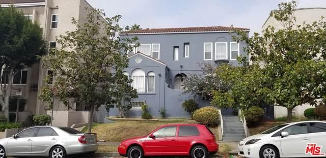 815 S New Hampshire Ave, Los Angeles, CA 90005 (#21-788396) :: The Suarez Team
