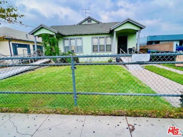W Vernon Ave, Los Angeles, CA 90037 (MLS #21-789098) :: Zwemmer Realty Group