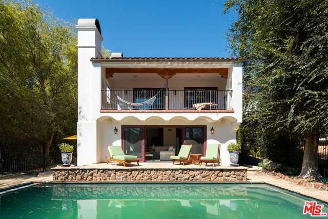 2625 Topanga Skyline, Topanga, CA 90290 (#21-789674) :: Berkshire Hathaway HomeServices California Properties