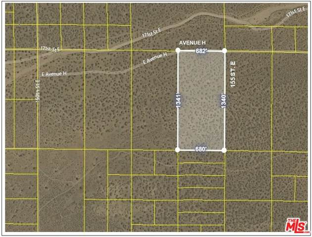 0 155 Street E And Avenue H Dirt, Lancaster, CA 93535 (#21-791710) :: The Bobnes Group Real Estate