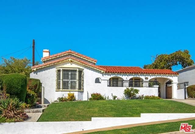 4037 W 62Nd St, Los Angeles, CA 90043 (#21-792388) :: The Pratt Group