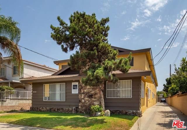 232 N Alhambra Ave, Monterey Park, CA 91755 (#21-792582) :: The Pratt Group