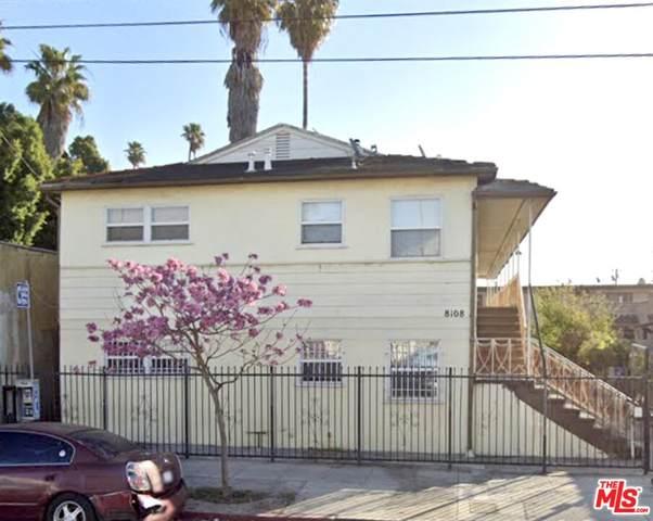8108 S Hoover St, Los Angeles, CA 90044 (MLS #21-792678) :: The Jelmberg Team