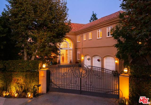 2270 Worthing Ln, Los Angeles, CA 90077 (#21-793154) :: The Parsons Team
