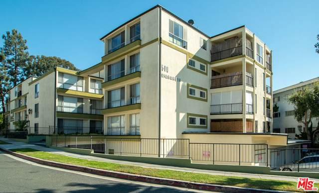 500 Evergreen St #208, Inglewood, CA 90302 (MLS #21-794494) :: The John Jay Group - Bennion Deville Homes