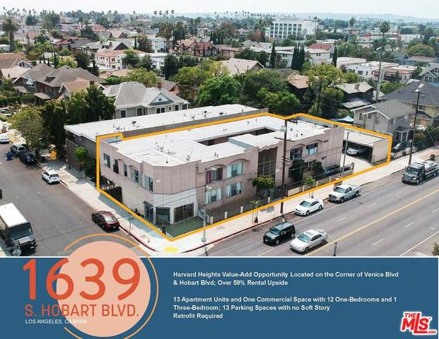 1639 S Hobart Blvd, Los Angeles, CA 90006 (#21-794526) :: The Pratt Group