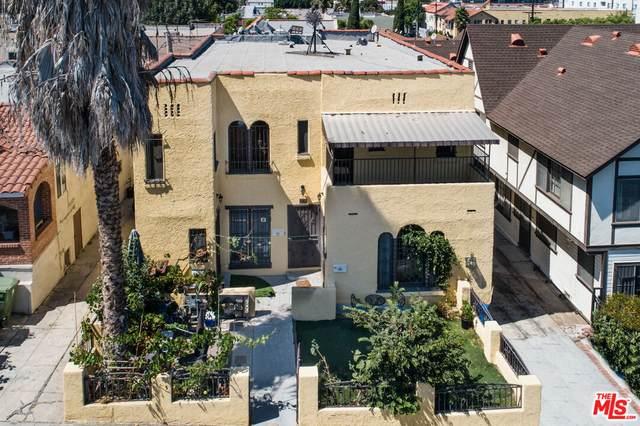 867 Serrano Pl, Los Angeles, CA 90029 (#21-794542) :: Berkshire Hathaway HomeServices California Properties
