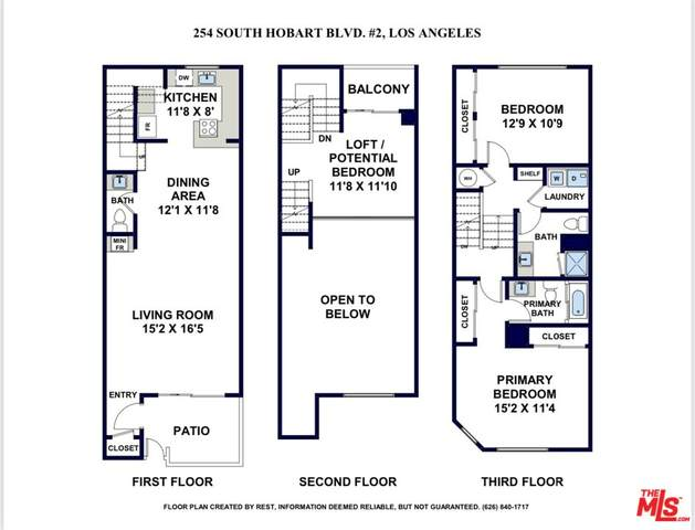 254 S Hobart Blvd #2, Los Angeles, CA 90004 (MLS #21-794748) :: The Sandi Phillips Team