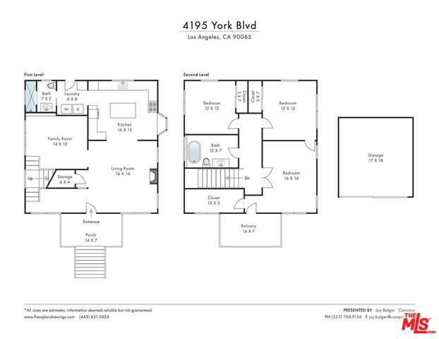 4195 York Blvd, Los Angeles, CA 90065 (#21-795038) :: Vida Ash Properties | Compass