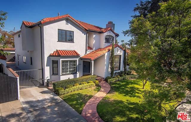 160 N Vista St, Los Angeles, CA 90036 (MLS #21-795092) :: The Sandi Phillips Team