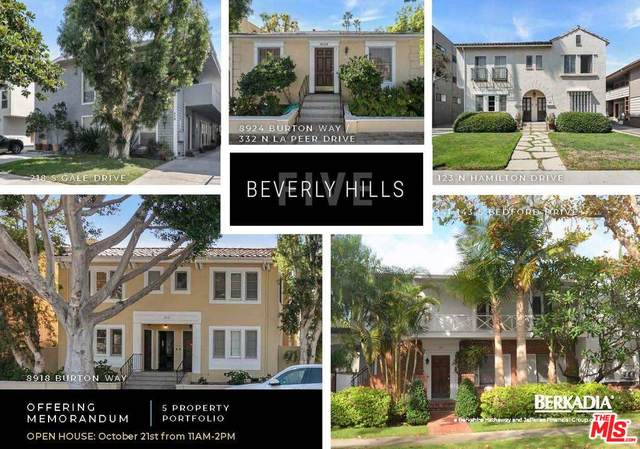 141 S Bedford Dr, Beverly Hills, CA 90212 (#21-795326) :: The Grillo Group