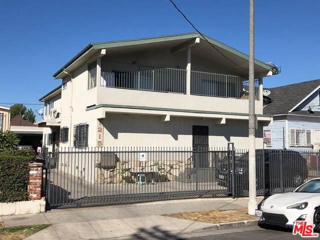 1215 S Kenmore Ave, Los Angeles, CA 90006 (MLS #21-795378) :: The Jelmberg Team