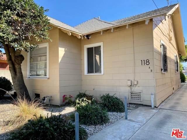 118 N Inglewood Ave, Inglewood, CA 90301 (MLS #21-795924) :: The John Jay Group - Bennion Deville Homes