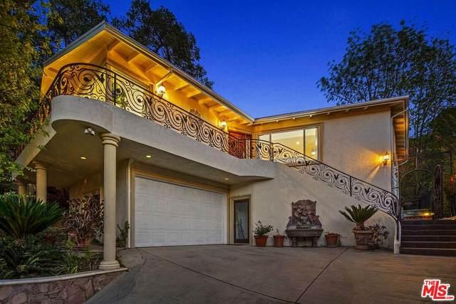 15284 Rayneta Dr, Sherman Oaks, CA 91403 (#21-796864) :: Berkshire Hathaway HomeServices California Properties