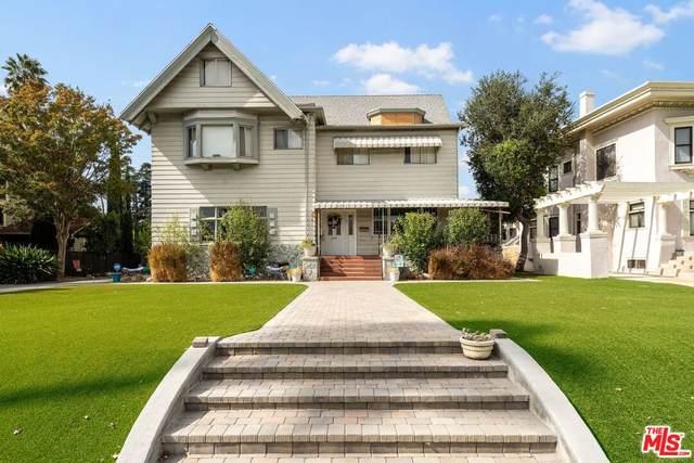 2047 S Harvard Blvd, Los Angeles, CA 90018 (MLS #21-797200) :: The John Jay Group - Bennion Deville Homes