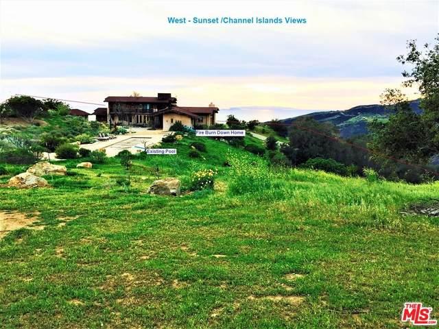 12550 Yellow Hill Rd, Malibu, CA 90265 (MLS #21-797248) :: The John Jay Group - Bennion Deville Homes