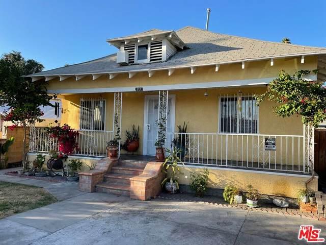 209 W 66Th St, Los Angeles, CA 90003 (MLS #21-797408) :: The Sandi Phillips Team