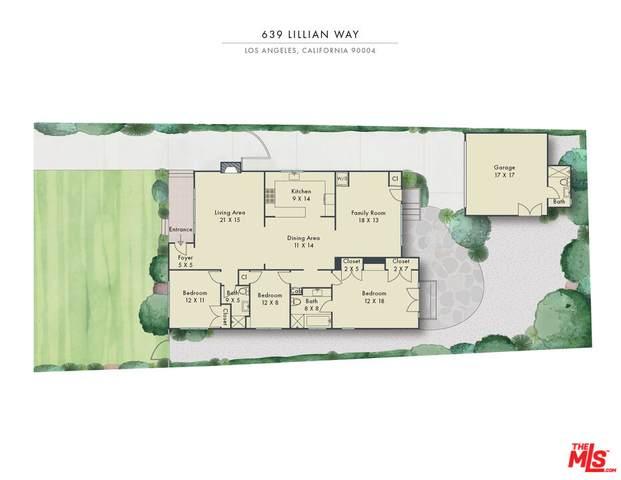 639 Lillian Way, Los Angeles, CA 90004 (MLS #21-797834) :: Zwemmer Realty Group
