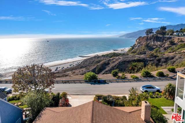 15241 Via De Las Olas, Pacific Palisades, CA 90272 (#21-798120) :: Berkshire Hathaway HomeServices California Properties