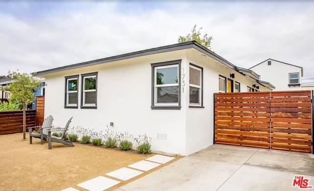 1731 Franklin St, Santa Monica, CA 90404 (MLS #21-798228) :: The John Jay Group - Bennion Deville Homes