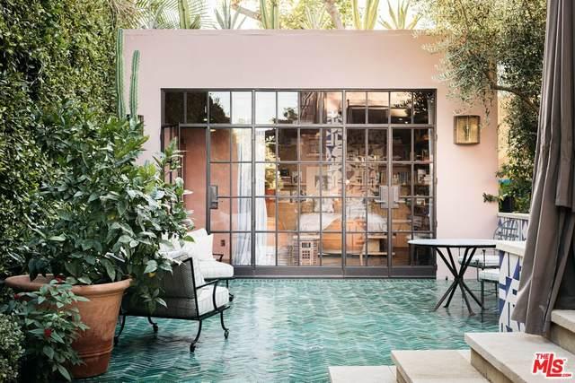 1737 N Curson Ave, Los Angeles, CA 90046 (#21-798242) :: Vida Ash Properties | Compass