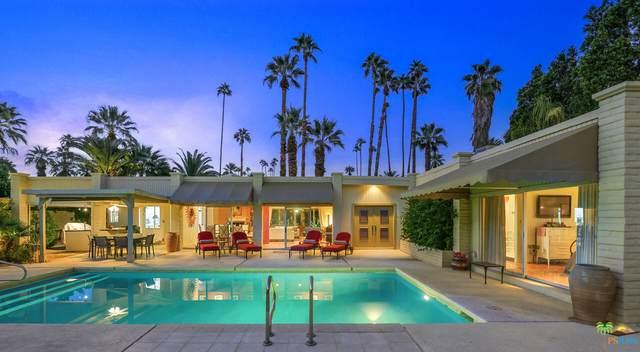 384 E Valmonte Sur, Palm Springs, CA 92262 (MLS #21-798618) :: The John Jay Group - Bennion Deville Homes