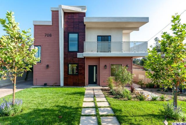 708 E Palmer Avenue B, Glendale, CA 91205 (#318005043) :: Fred Howard Real Estate Team