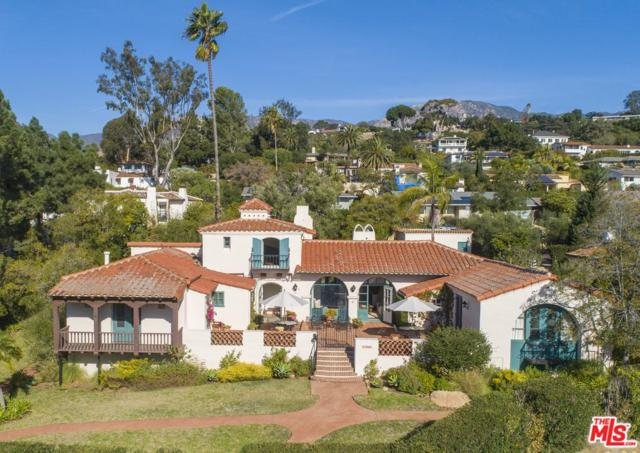 1806 El Encanto Road, Santa Barbara, CA 93103 (#19421070) :: Desti & Michele of RE/MAX Gold Coast