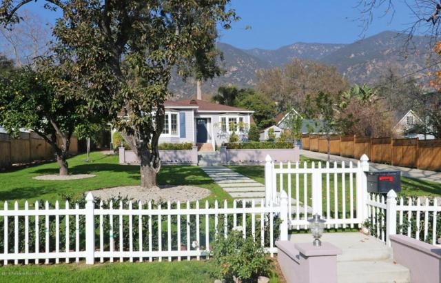 619 W Alegria Avenue, Sierra Madre, CA 91024 (#819000181) :: The Parsons Team