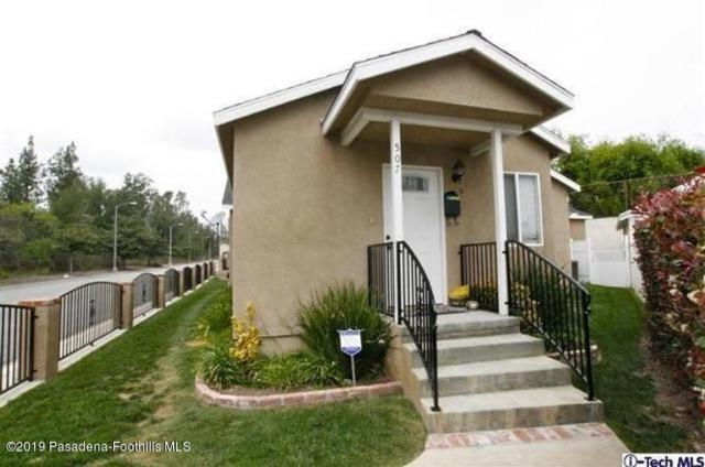507 Anderson Place, Pasadena, CA 91103 (#819000272) :: TruLine Realty