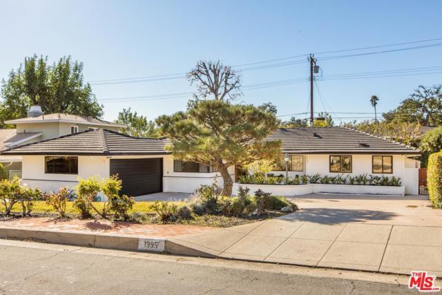 1995 Fox Ridge Drive, Pasadena, CA 91107 (#19418804) :: The Parsons Team