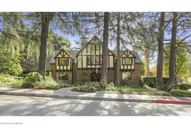 1842 Fairmount Avenue, La Canada Flintridge, CA 91011 (#819000279) :: The Parsons Team
