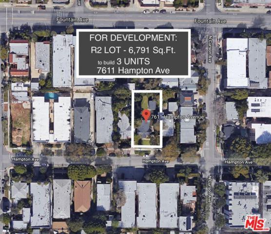 7611 Hampton Avenue, West Hollywood, CA 90046 (#19426018) :: The Fineman Suarez Team