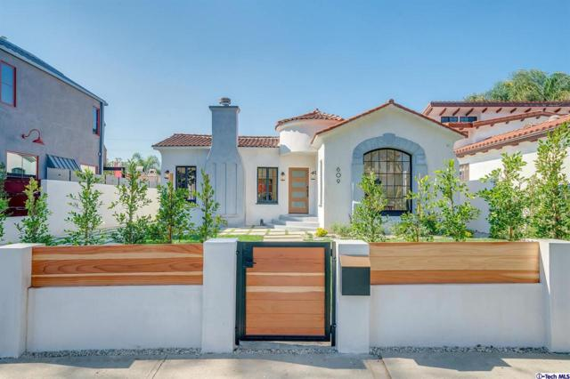 609 N Crescent Heights Boulevard, Los Angeles (City), CA 90048 (#319000553) :: Lydia Gable Realty Group