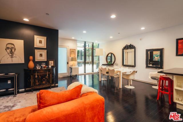 825 N Kings Road #3, West Hollywood, CA 90069 (#19436646) :: Golden Palm Properties