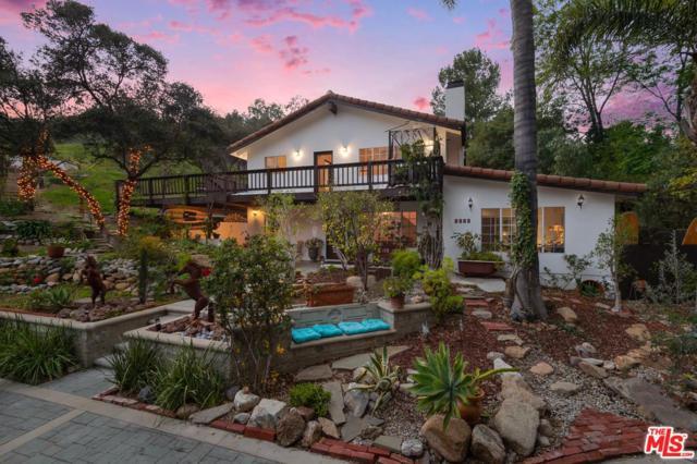 2365 Old Topanga Canyon Road, Topanga, CA 90290 (#19437144) :: Golden Palm Properties