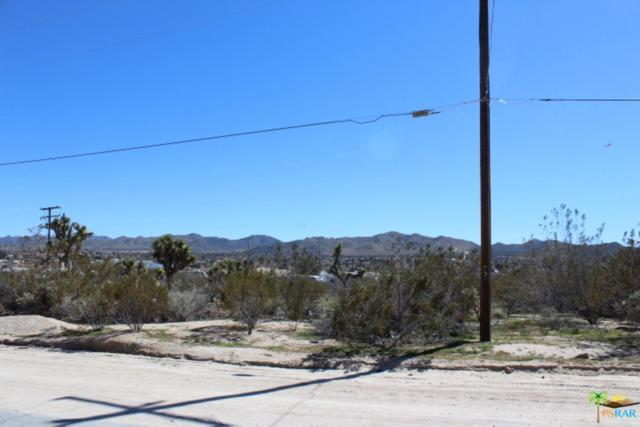 0 Sunland Drive, Yucca Valley, CA 92284 (#19443002PS) :: The Agency