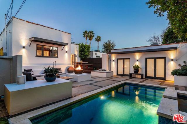 613 N Laurel Avenue, Los Angeles (City), CA 90048 (#19445578) :: The Agency