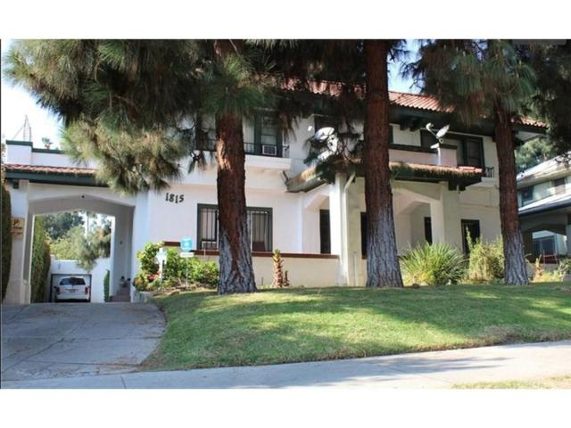 1815 Wilton Place, Hollywood, CA 90028 (#SR19069524) :: The Agency