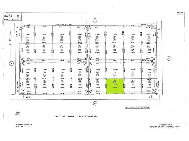 0 W Avenue C, Fairmont, CA 93536 (#SR19086140) :: The Parsons Team