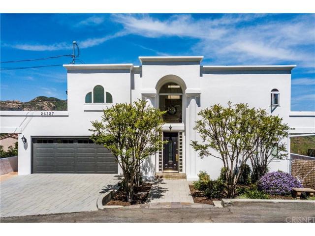 26327 Fairside Road, Malibu, CA 90265 (#SR19086428) :: Golden Palm Properties