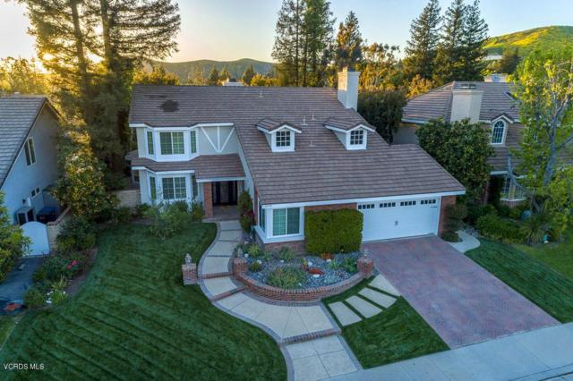 5719 Middle Crest Drive, Agoura Hills, CA 91301 (#219004654) :: Golden Palm Properties