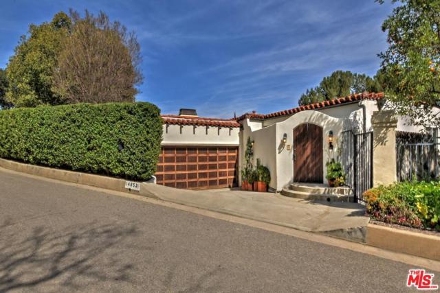 14853 Round Valley Drive, Sherman Oaks, CA 91403 (#19456402) :: Golden Palm Properties