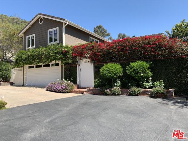 16962 Avenida De Santa Ynez, Pacific Palisades, CA 90272 (#19460378) :: TruLine Realty