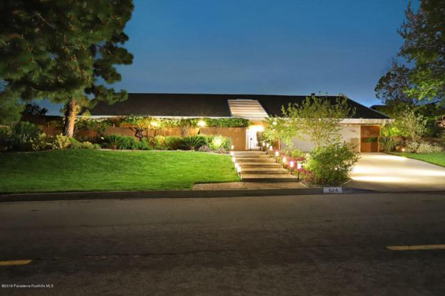 624 Starlight Crest Drive, La Canada Flintridge, CA 91011 (#819002041) :: Lydia Gable Realty Group