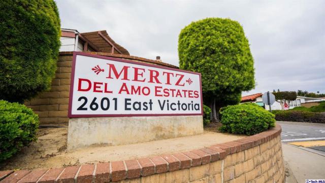 2601 E Victoria St. #281, Compton, CA 90220 (#319001875) :: Paris and Connor MacIvor