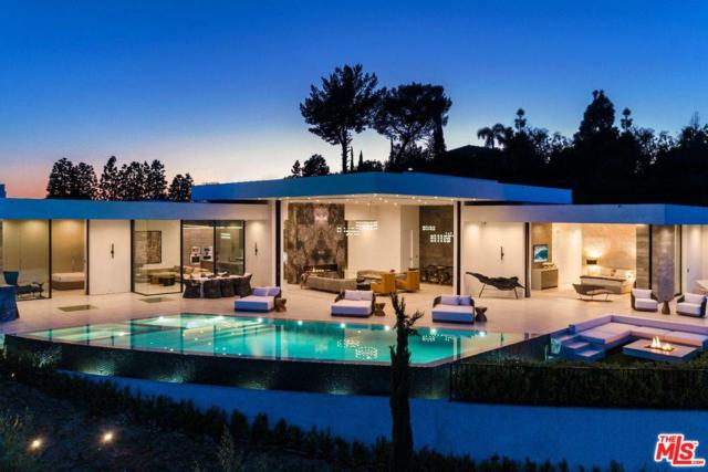 2200 Summitridge Drive, Beverly Hills, CA 90210 (#19467186) :: The Fineman Suarez Team
