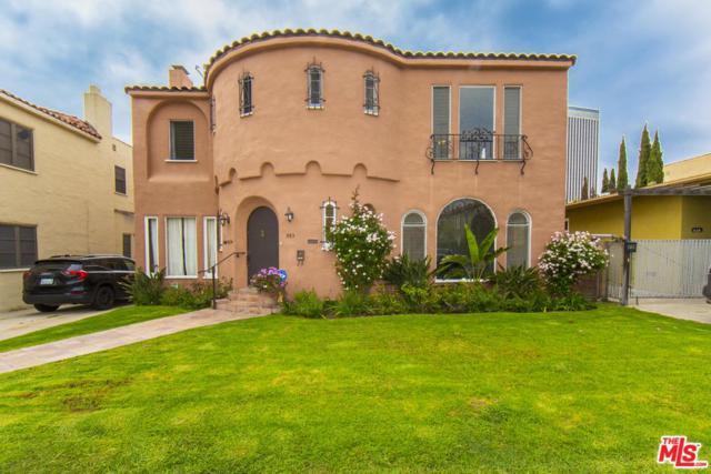 843 S Curson Avenue, Los Angeles (City), CA 90036 (#19467734) :: The Agency